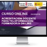 ACREDITACIÓN DOCENTE PARA TELEFORMADOR ON LINE CURSO ONLINE